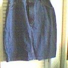 Blue Denim Straight Skirt Lee Jeans Size 12 ... FREE SHIPPING!