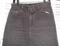 Brown Denim Jeans Riders Size 12P Petite...