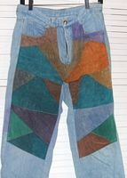 Denim Jeans Suede Patchwork Don't Stop Size 11 / 12 Juniors ...