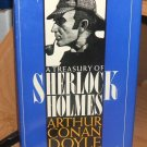 A Treasury Of Sherlock Holmes by Sir Arthur Conan Doyle.. 1955