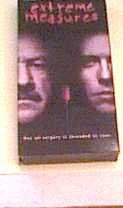 Extreme Measures w/ Gene Hackman & Hugh Grant... VHS EDITION