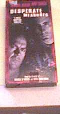 Desperate Measures VHS w/ Andy Garcia & Micheal Keaton...