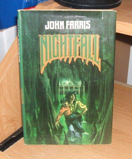 Nightfall by John Farris Hardcover Edition 1987 Tor Horror