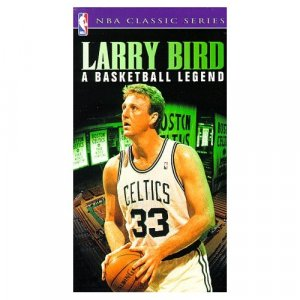 Larry Bird.. A Basketball Legend  NBA Hoops / CBS Fox Sports Video 1991...