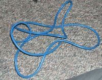 8 Foot Network Cable Blue