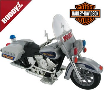 Buddy L Harley Davidson Collectible Highway Patrol Model w/ Sound