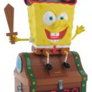 Spongebob Treasure Chest Clock & Radio From Nickelodeon