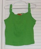 Green Cotton Ribknit Tank by Green Dog Size 10 / 12