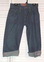 Levi Strauss Signature Girls Denim Capri Jeans Size 12