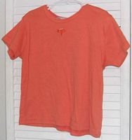 Orange Cotton T Shirt by Girl Tribe Size 10 / 12