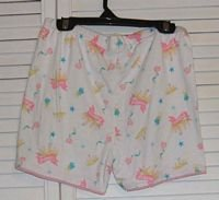 Cotton Princess Shorts by Circo Sleepwear Size 14