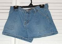 Blue Denim Cotton Shorts Steve & Barrys Sz 7