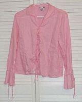 Pink Linen Shirt Alexander Bartlett Size L