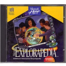 "Microsoft Home Explorapedia CD Software ""The World Of People"""