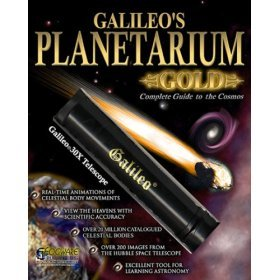 Galileo Planetarium Gold Deluxe CD Software