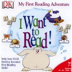 I Want To Read!!  My First Reading Adventure CD Software by DK