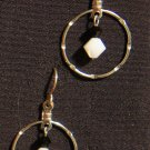Jana Earrings- Black and White