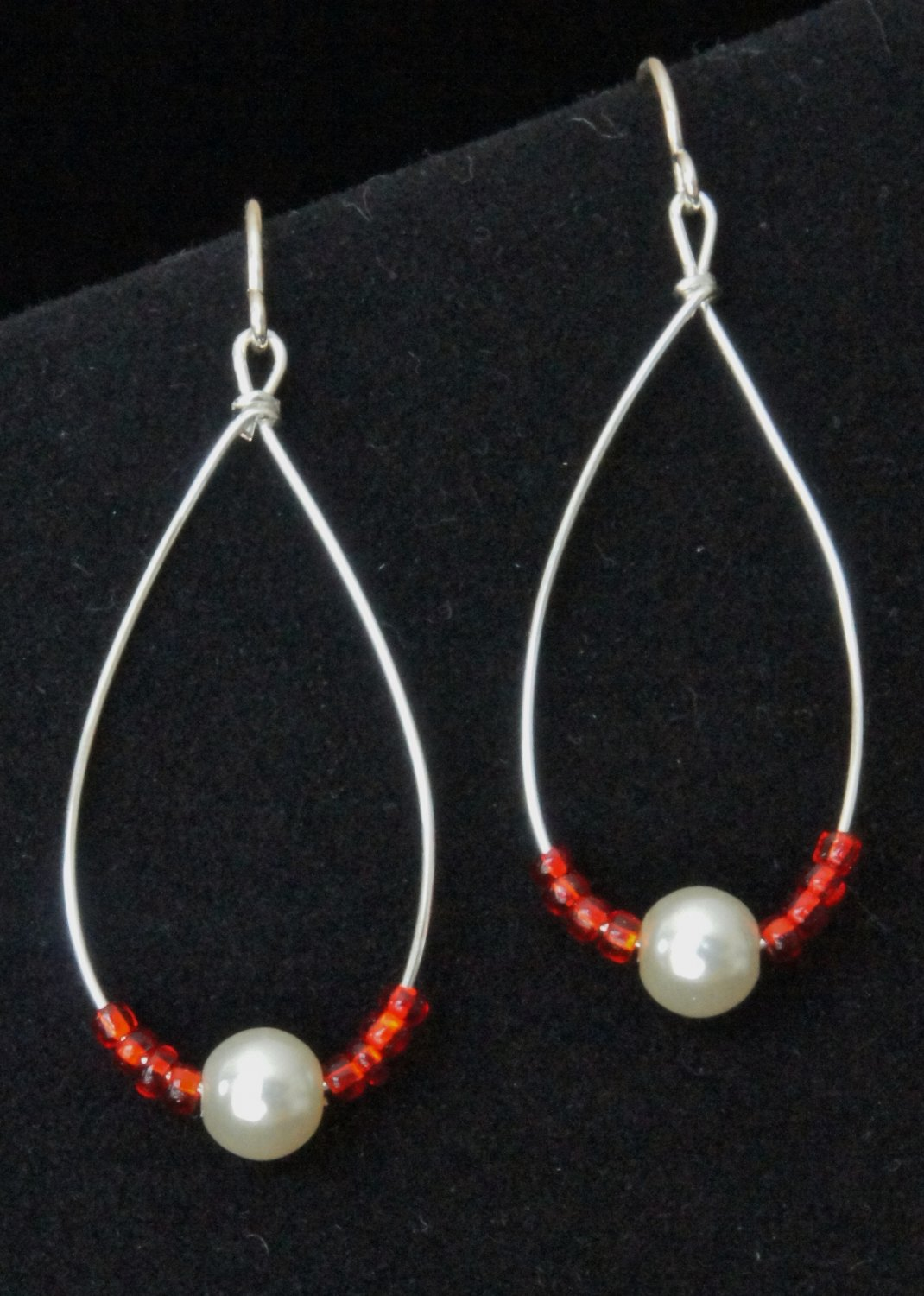 Red and White Drop