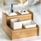 Bamboo Bath Organizer