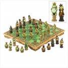Frog Kingdom Chess Set
