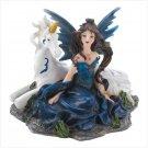 Sapphire Fantasy Fairy Figurine
