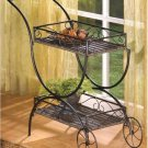 Flower Cart Curio Shelf