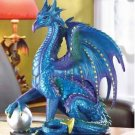 Blue Dragon With Ball