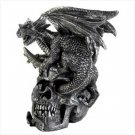 Skull & Dragon Figurine