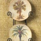 Plantation Palm  Plate Quartet