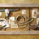 Wild West Memories Shadow Box