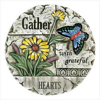 Gather Garden Stepping Stone