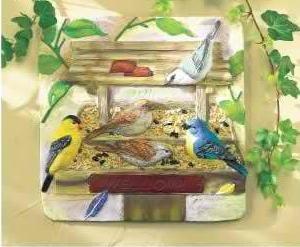 Backyard Bird Plaque