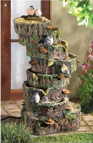 Forest Fantasy Water Fountain