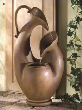 Abstract Urn Fountain