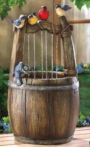 Cottage Wishing Well Fountain