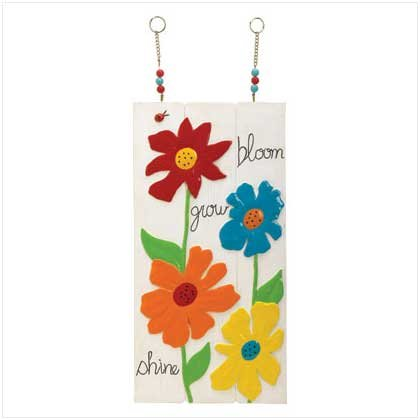 Bloom Grow Shine Design Post