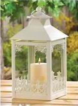 Garden Gate Candle Lantern