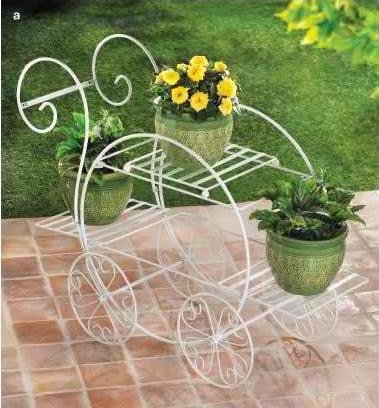 French Flower Cart Plant Stand