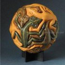 REPTILES LIZZARDS TESSELLATION SPHERE by M.C. ESCHER REPLICA STATUE DUTCH ART