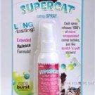 SUPERCAT EXTENDED RELEASE NANO BURST CATNIP CAT NIP SPRAY 1.75 oz. (52 ml.)