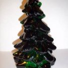 "Mosser Glass EMERALD GREEN LARGE 8"" CHRISTMAS TREE Figurine Holiday DECORATION"