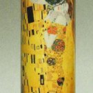 GUSTAV KLIMT THE KISS CERAMIC CYLINDER CANDLE HOLDER TEALIGHT GERMAN ART