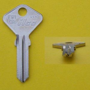Alfa Romeo, Fiat, Ferrari Door Key