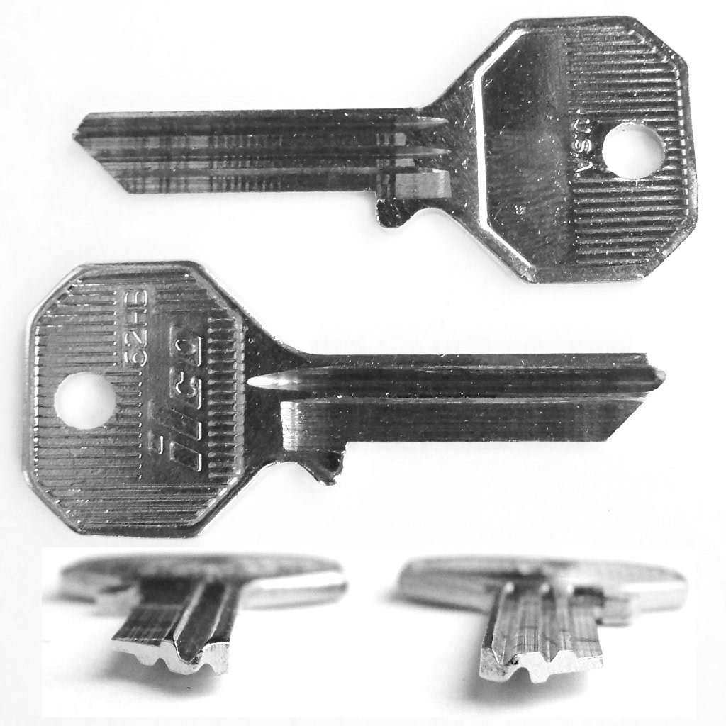 Key Blank for Rolls Royce Bentley through 1970