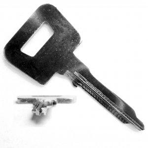 Porsche Key Blank PO5 911 912 914 Steel A81M