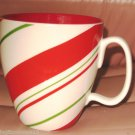 2007 HOLIDAY STARBUCKS COLLECTIBLE COFFEE MUG GREEN RED