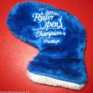 DORAL RYDER OPEN CHAMPION'S GOLF CLUB PUTTER HEADCOVER MIAMI FL.  ONLY ONE RARE!