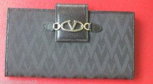 VALENTINO GARAVANI SIGNATURE WALLET Clutch Bag Black