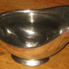 D.W. HABER & SON NY NEW YORK SILVERPLATE SAUCE BOAT GRAVY SERVER VTG. 14 OUNCE