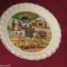 VINTAGE NEW MEXICO STATE SOUVENIR COLLECTOR PLATE 7 1/2""